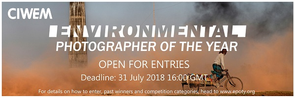 CIWEM Environmental Photographer of the Year 2018